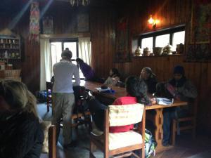 Breakfast in Yukla