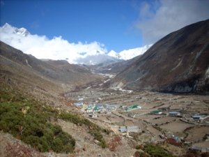 Dingboche (Photo by OMer and Freedom Climber, Nancy Byrne)