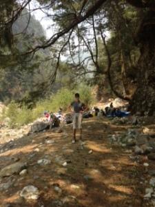 Judy Hart - Hiking to Namche
