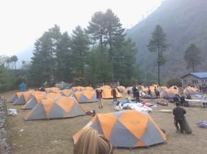 Namche Campsite